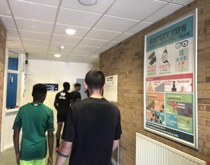 leisure centre advertising