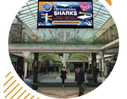 Lucid Outdoor launches two brand new screens in association with Stockport Council